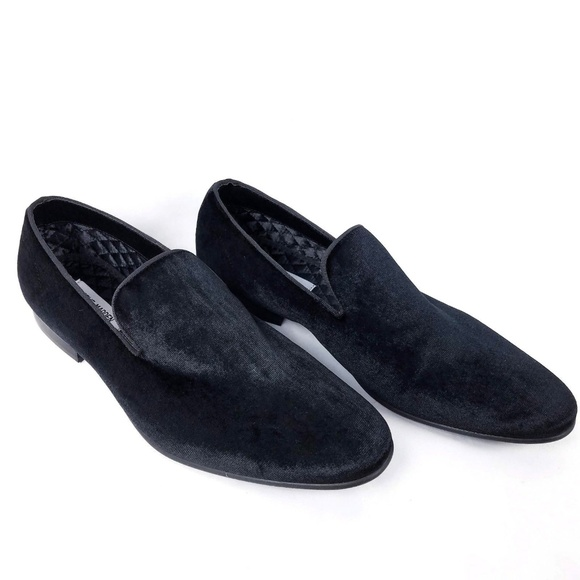 b4fb512215c Steve Madden Mens Loafers Shoes 10 Black Velvet. M 5be1b4e19539f70ce4995d41